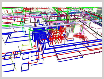 piping BIM Modeling Services
