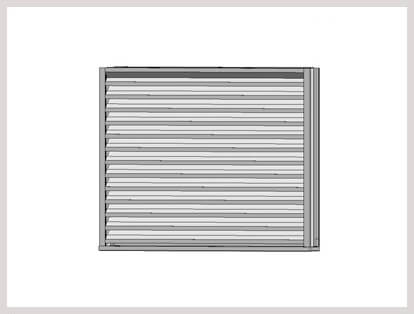 Aluminium Extruded Louver